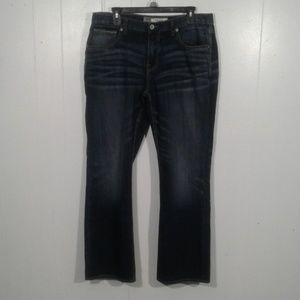 BKE Derek Bootleg Jeans Size 34R
